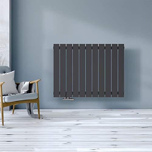 Safeni Heizkörper Flachheizkörper, Heizwand Design 630x850mm Flache Form Einlagig doppellagig Heizkörper für wohnzimmer