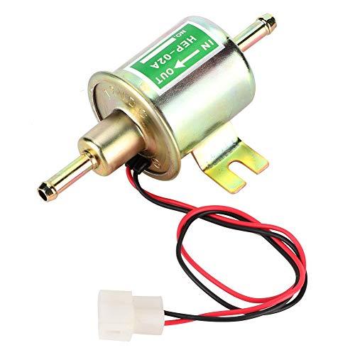 Bomba de combustible eléctrica, bomba de combustible eléctrica universal de 12V Bomba de gasolina diesel de fijación de pernos de baja presión HEP-02A