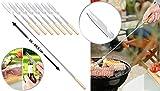 infactory Barbecue-Grillgabel: 8er-Set...