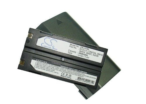 Batería Compatible con fit to Symbol Barcode Scanner, C8872A, EI-D-LI1, 46607, 38403, 52030, 29518