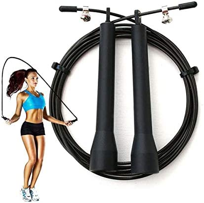 Survival and Cross Jump Rope Speed Jump Rope Blazing Fast Jumping Ropes Skipping Workout for product image