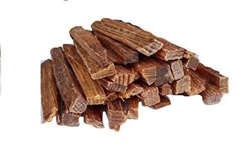 BlackSellig 1 Kg Grill- und Kaminanzünder Kienspäne - organisch und 100% natürlich - brennen sehr schnell - nahezu unbegrenzt haltbar - frei von Chemikalien