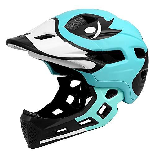 DYOYO Schutzhelm Downhill Helm Fahrrad Kinderhelm Integriert Integralhelm mit...