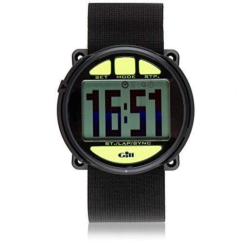 Gill Regatta Race Timer Watch BLACK/Yellow buttons W014