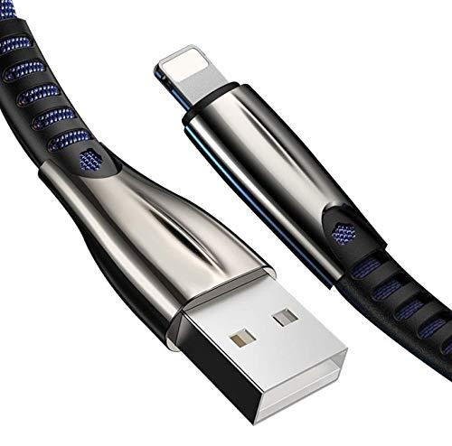 ANUITEK Cable Phone,Phone Adaptador USB [2Pack 1.5M] Compatible con Phone 12/11/11Pro/XS/XR/X/8 Plus/8/7/6S/6+/6