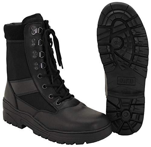 MFH Stiefel, Security, schwarz, 8-Loch, Gummisohle - 43