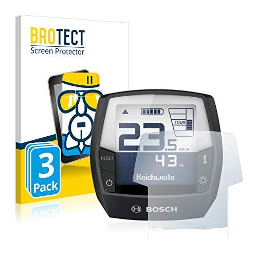 BROTECT Panzerglas Schutzfolie kompatibel mit Bosch Intuvia Performance Line (E-Bike Display) (3 Stück) - AirGlass, 9H Härte, Anti-Fingerprint