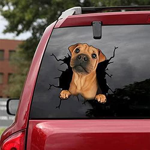 VSDY Pegatina para ventana de coche, pegatinas personalizadas, para coches, 30 x 30 cm