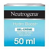 Neutrogena Hydro Boost Gel-Crème Hydratant Visage – Soin visage pour peaux sèches – 1 x pot de 50 ml