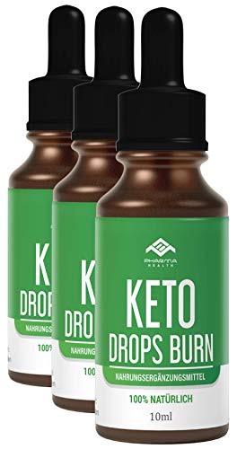 Keto Drops BURN (Tropfen) Ketogen EXTREM   Schnell & Leicht & Einfach LIPO   10ml (3)