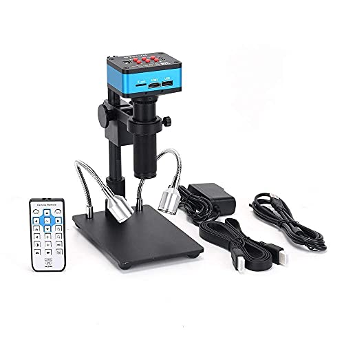 HAYEAR 4K UDH 2160P 1080P HDMI Industrial Microscope Camera for Machine PCB Board CPU Repair Soldering High Speed No Lag Portable Set