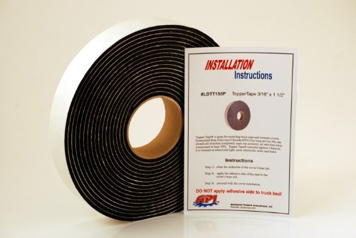API LDTT150P Topper Tape for Mounting Truck Caps / Camper Shells (1 roll 1-1/2