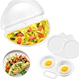 Best Omelette Makers - ManYee Egg Poacher 2 Cavity and Omelet Microwave Review