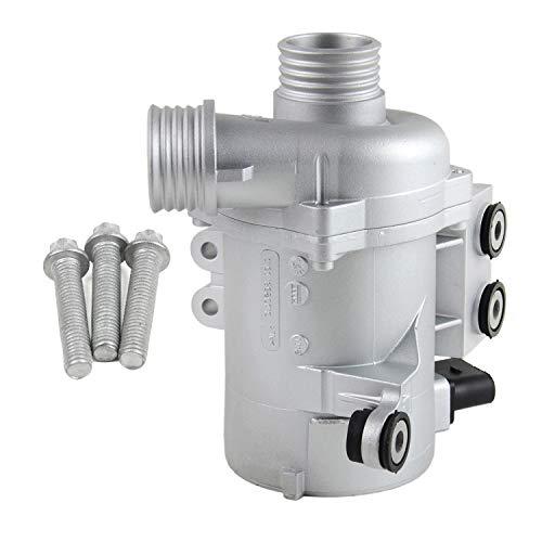 Electric Engine Water Pump with Bolts 11517586925 for BM-W X3 X5 328i 128i 528i E81 E90 E91 E92 E93 E60 E61 E63