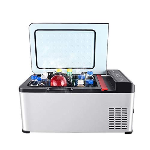 LIU UK Car Refrigerator GroßE LKW Gewidmet 24v Auto KüHlschrank Kompressor KüHlung 18L Tragbares Auto Nach Hause Dual-Use-12v / 220v Mini Elektronische Gefriertruhe