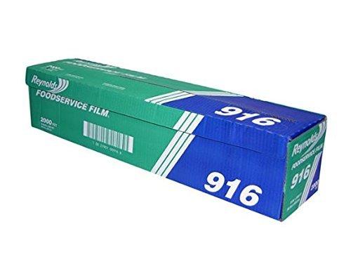 Reynolds 916 2000' Length x 24' Width, PVC Foodservice Wrap Film