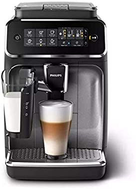 Philips 3200 Series Fully Automatic Espresso Machine w/ LatteGo, Stainless, EP3246/74