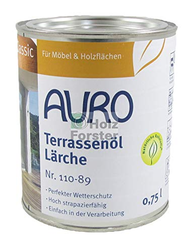 AURO Terrassenöl Classic Nr. 110-89 Lärche, 0,75 Liter