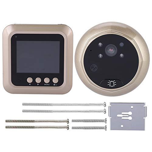 Videoportero Intercom Video Doorbell Mirilla De Seguridad Con Timbre De Video Inalámbrico...