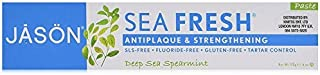 Jason Sea Fresh Antiplaque & Strengthening Toothpaste, Deep Sea Spearmint 6 oz