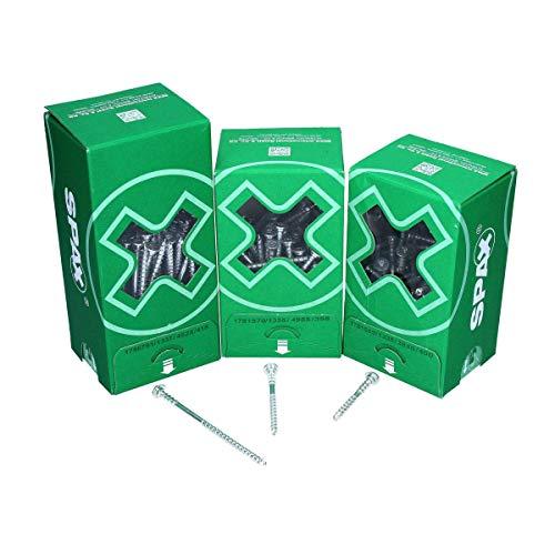 SPAX Justierschraube Flachkopf Halterillen T-Star plus WIROX 6 x 80 mm 100 Stück