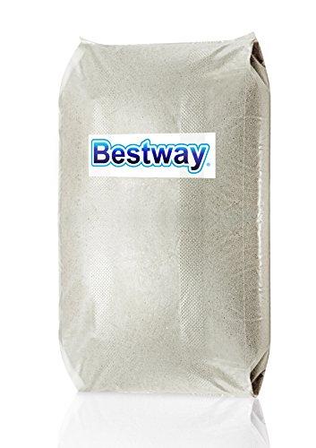Bestway 58201 Sabbia Quarzifera Microperlata, 0.4-0.8 Mm