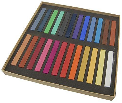 Cookelani® TM Haarkreide 24 Farben Set Hairchalk Haarkreide Set Farben Haare färben Qualitäts Haarkreide