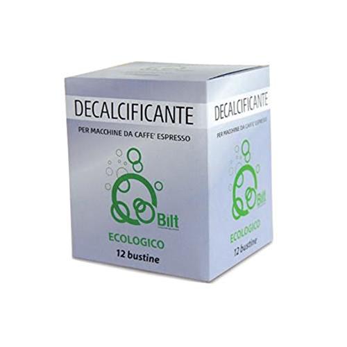 Bilt 12 Bustine Decalcificante per Macchine da Caffe Bilt Ecologico