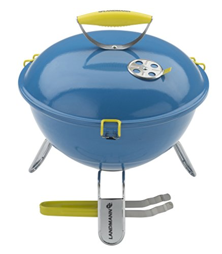 "Landmann Barbecues 31381 38 cm ""Piccolino"" Portable Charcoal Barbecue - Azure Blue"