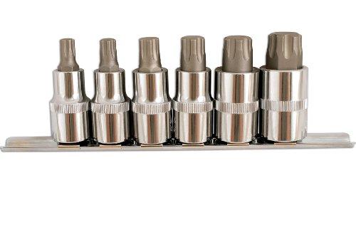 Laser 5214 Lot de 6 embouts Torx 1,2\