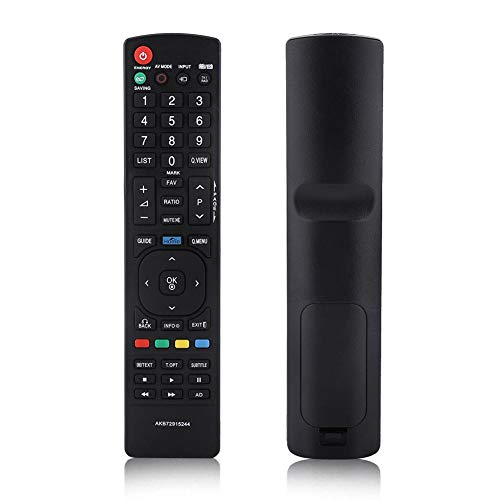 Zerone Universal-Fernbedienung AKB72915244 Fernbedienung für LG, Smart TV Ersatz für LG 22LK330 26LK330 32LK330 LCD LED TV