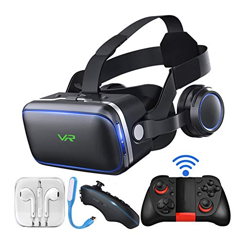 IOIOA 360° VR Virtual Reality Headset, 3D VR Bril voor Films, Video,Games - Virtual Reality Bril VR Gogggles voor Android en andere telefoons binnen 4.7-6.2 inch