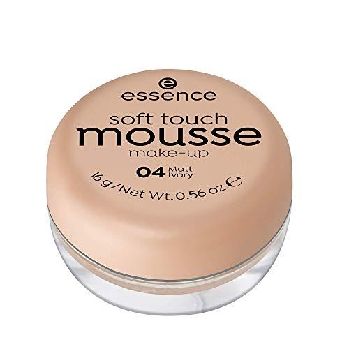 ESSENCE Soft Touch Mousse maquillaje 04 Matt Ivory