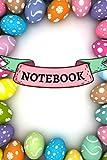 Notebook: Carnet de Notes spécial Pâques | 120 pages lignées | Format 15,24 x 22,86 cm | Idée cadeau pour les enfants