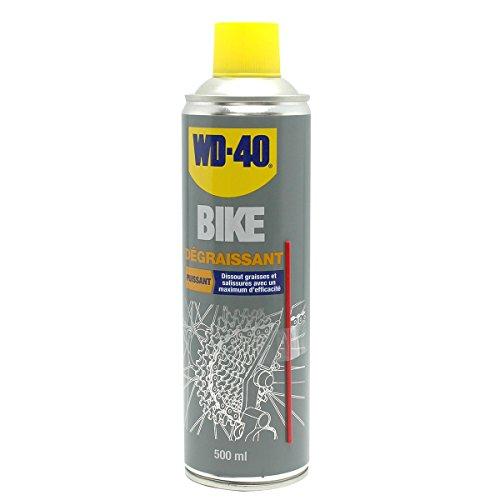 WD-40 Bike • Degraissant • Aérosol • Formule à action rapide • Ne laisse aucun résidu • Ralentit l'usure naturelle • 500Ml