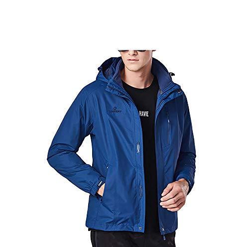 gengyouyuan Heren en vrouwen tweedelige afneembare jas Winddicht waterdicht en ademend outdoor ski pak
