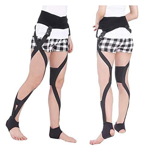 WANGPP Durable Leg Correction Belt Band Posture Corrector, Unisex O/X Leg Type Correction Belt Knock Knees Valgus Deformity Bow Legs Band Straighten Belt For Children And Adult 1.5 (Color : L)