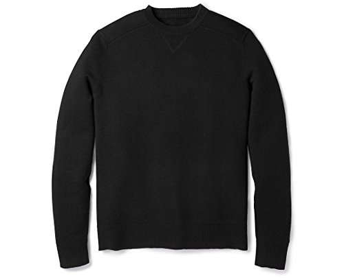 Smartwool Sparwood Crew Neck Sweater - Men's Black Medium