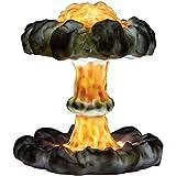 Lámpara de mesa de explosión de la nube de la nube de la nube 3D, la luz de la bomba atómica de la explosión nuclear, la lámpara de escritorio de la simulación creativa, la lámpara de noche USB
