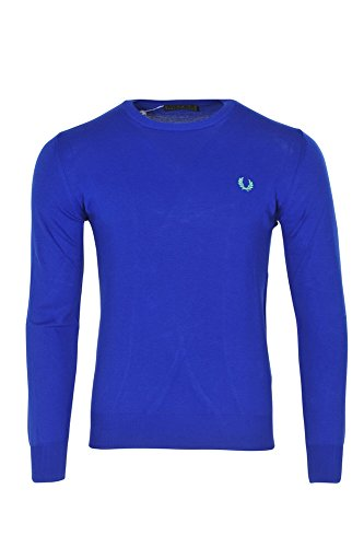 Fred Perry Pull Homme Bleu Cotton Casual L