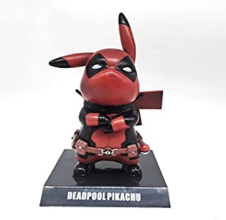 ML Warehouse Pikachu Cosplay PVC Figure Collectible Model Toy (Deadpool)