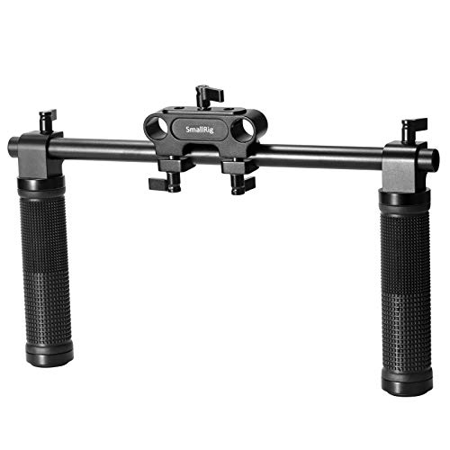SMALLRIG 15mm Sistema de Varilla Hand Grip Handle V5 para...