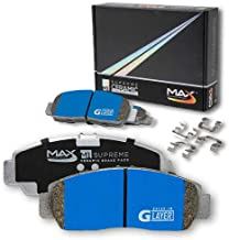Max Brakes Rear M1 Supreme Ceramic Premium Disc Brake Pads KM169252 | Fits: 2007 07 Mercedes Benz E550/E550 4Matic