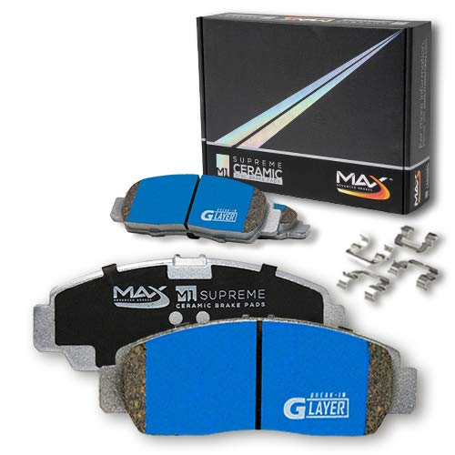 Fits: 2012 12 2013 13 Chevy Sonic KT140841 Max Brakes Front Premium Brake Kit OE Series Rotors + Ceramic Pads