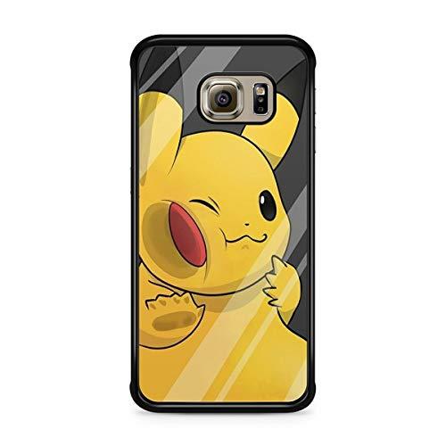 Coque pour Samsung Galaxy S7 Edge Pokemon go Team Pokedex Pikachu Manga Tortank Game Boy Color Salameche Noctali Valor Mystic Instinct Case + Stylet + Lingette de Nettoyage Ecran 9