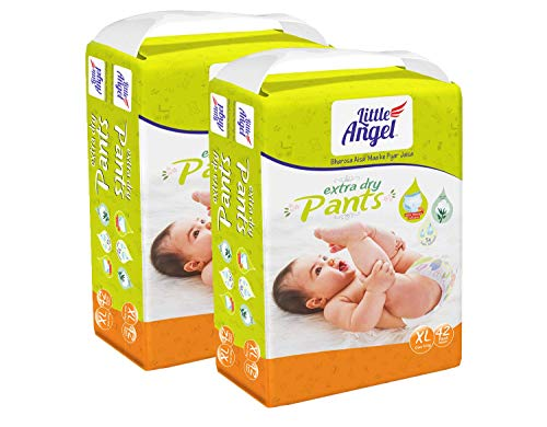 Little Angel Baby Diaper Pants , Extra Large (2 X Pack of 42)
