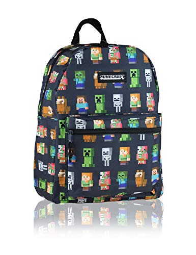 Teen Backpack MINECRAFT Multi Character