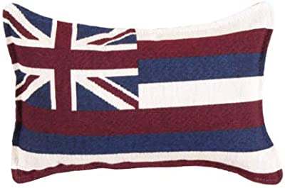 LoomHome Flag of Hawaii Pillow