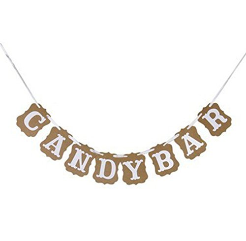 Nikgic Wimpel Bunting Farbenfroh Wimpel Wimpeln Wimpelkette Fahnen Banner Candy Bar