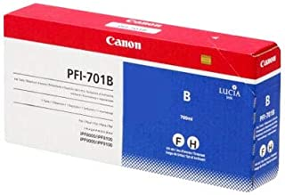 PFI-701B Pigment Blue Ink Tank 700ML for IPF9000